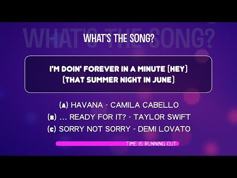 What's the song? | Lyrics QUIZ from BILLBOARD HOT100 January 2018