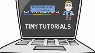 Go Paperless with Hyperdocs