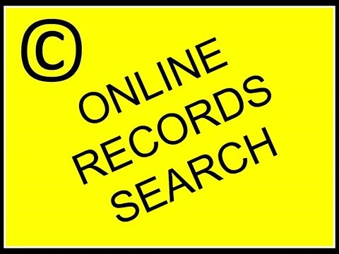 How to search copyright records online Mp3