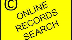 How to search copyright records online