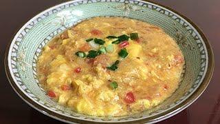 #974-1 Tomato Egg Drop Soup - 토마토 계란 수프