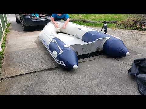 Inflating And Setting Up My Hydro Force Sib Boat