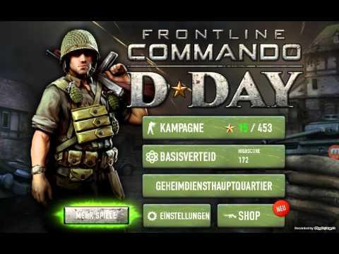 Frontline Commander D-Day #4-Jaaaa Waffen testen!!