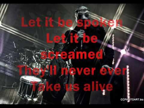 ´Til we die-Slipknot lyrics