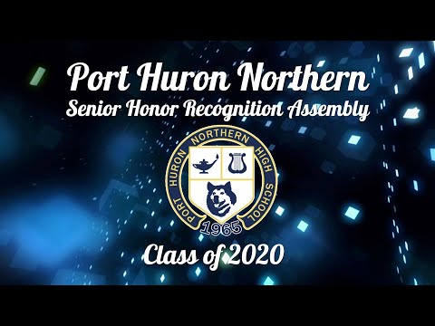 Port Huron Northern High School Class of 2020 Senior Assembly - May 29, 2020