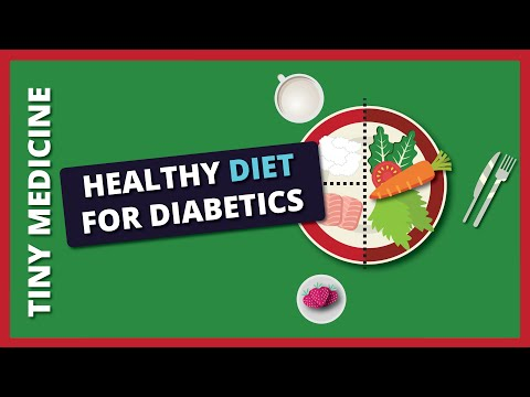 Diabetic Plate  : A healthy diet plan for Diabetic patients (Food portion Plate)