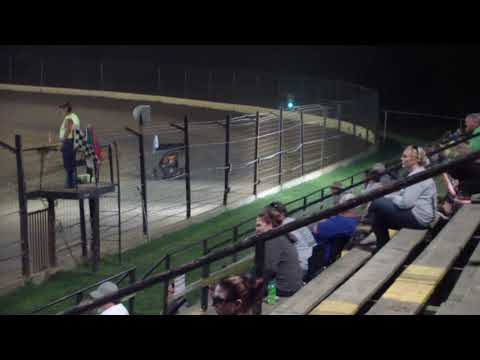 Aaron Jesina, Jesina Racing, Restricted Feature at Sweet Springs Motorsports Complex Sept 9, 2017