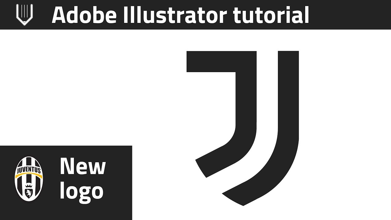 How To Design New Juventus Logo In Adobe Illustrator Youtube