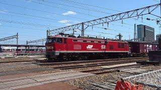 2019.05.19 貨物列車(4075列車)秋田駅発車