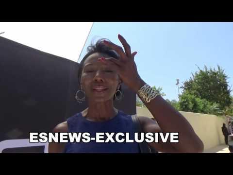 Jeryl Prescott of the walking dead huge serena williams fan why media hate on her