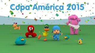 Celebrate Copa América 2015 with Pocoyo!