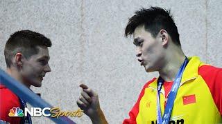 Sun Yang gets in Duncan Scott's face | World Swimming Championships 2019 | NBC Sports