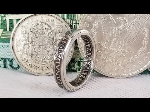 Making a Coin Ring From 2 Coins