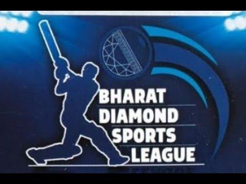 BHARAT DIAMOND SPORTS LEAGUE | DAY 1 | MATCH NO 3 | 2018