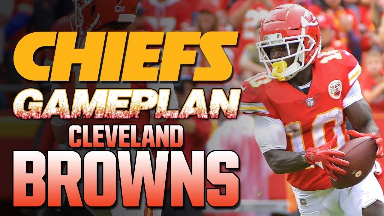 Kansas City Chiefs Gameplan Vs Browns 4 Keys Patrick Mahomes Kareem Hunt Tyreek Hill Nfl 2018 Youtube