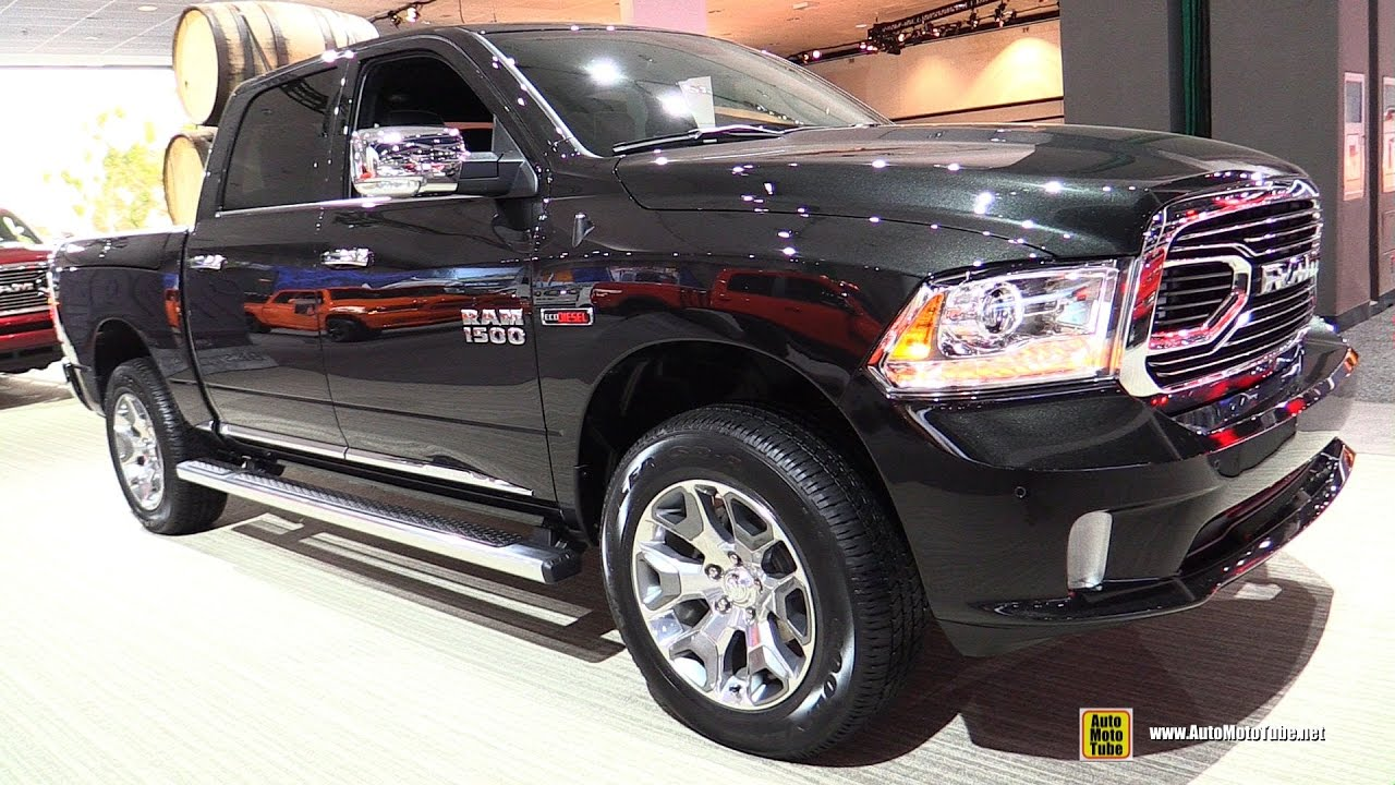 2017 ram 1500 limited diesel exterior and interior. Black Bedroom Furniture Sets. Home Design Ideas