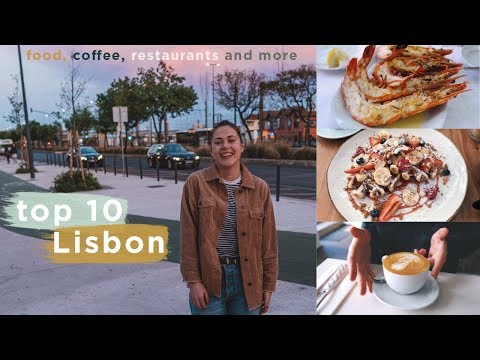 Top 10 Things To Do in Lisbon, Portugal in 4K 2019