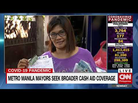 Metro Manila Mayors Seek Broader Cash Aid Coverage