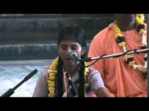 Narottama Kirtan Utsav - Hare Krishna Kirtan By HG Sharmishta Dasi At ISKCON Mayapur