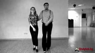 Charleston - main step - swing dance lessons with Lindy Hop Bulgaria