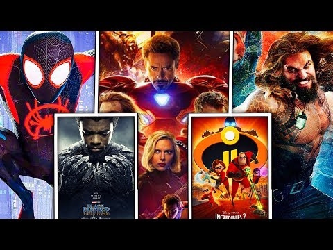 All 12 Superhero Movies in 2018 RANKED!