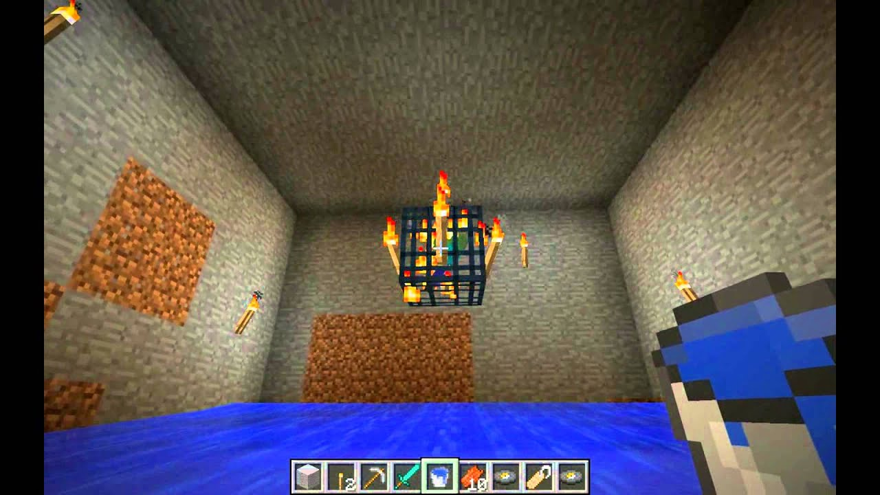 Minecraft Spawner Drowning Trap - Year of Clean Water