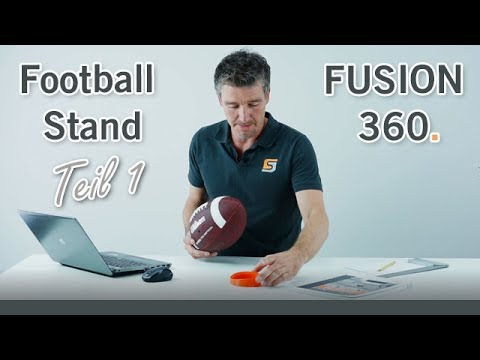 Football Stand - Fusion 360 Tutorial (Teil 1)