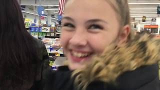 Dance party at Walmart with a service dog in New York