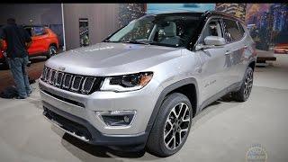 2017 Jeep Compass - 2016 La Auto Show