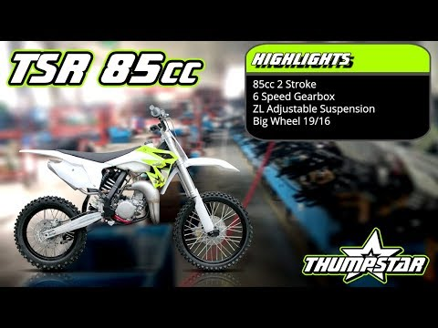 2018 Thumpstar TSR 85cc - Racing Bike