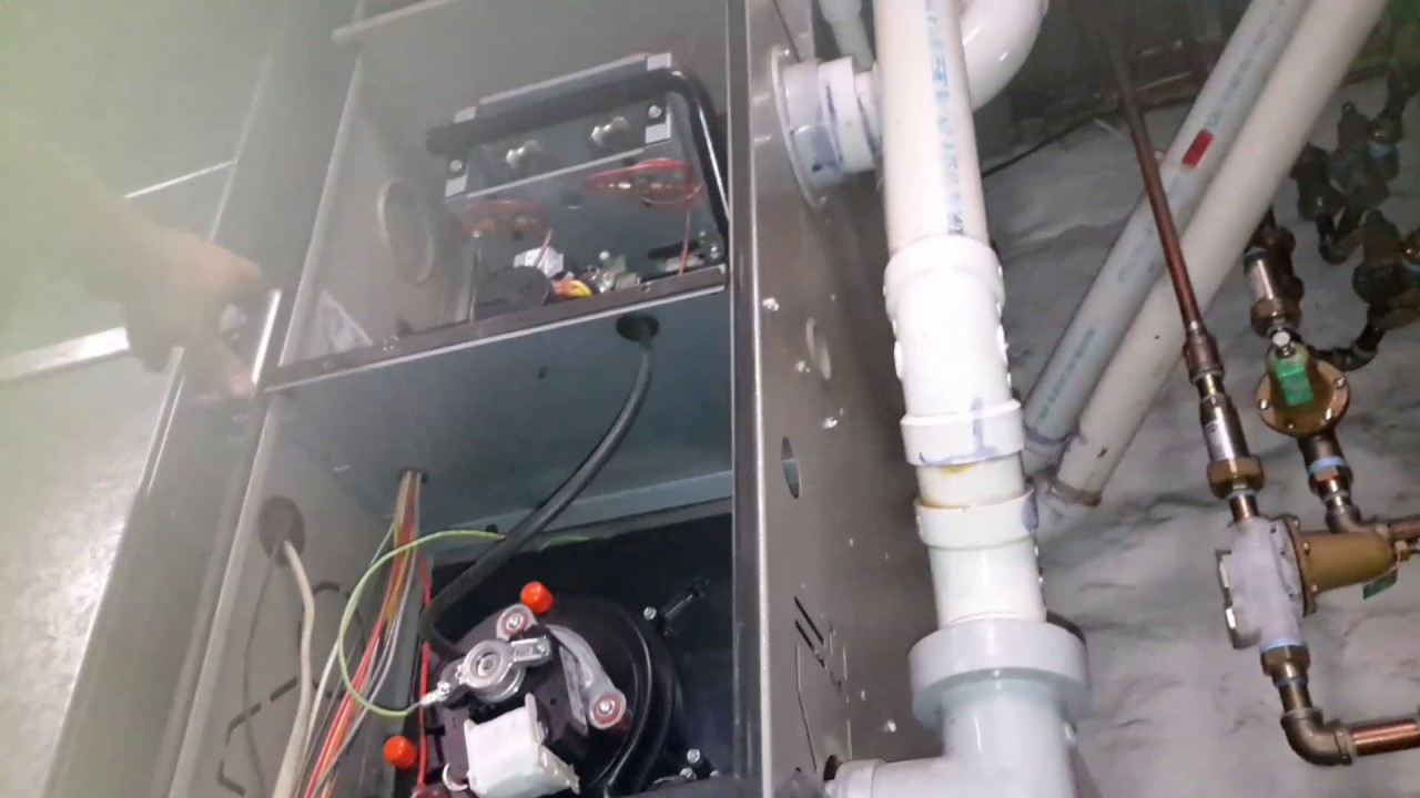 furnace blower humming when off 12v led lights wiring diagram goodman draft inducer stuck and youtube