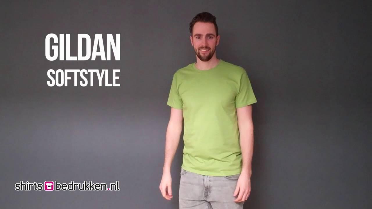 Gildan Softstyle T Shirt 64000 Shirts Bedrukken Nl