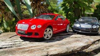 Bentley Continental GT 2011 VS. Continental GT 1:18 Minichamps