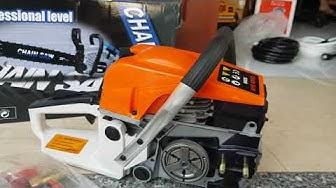 Máy cưa xích chạy xăng động cơ 2 thì giá 1300k ,liên hệ .0986045505-0978912346