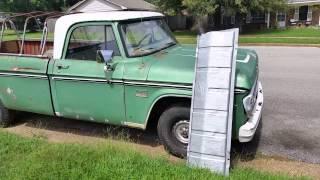 1970 Dodge D100 September 2014 update