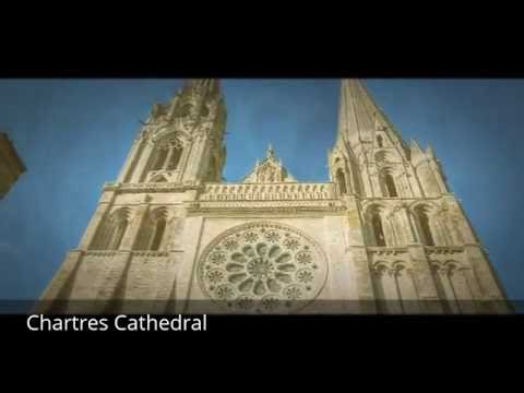 Places to see in ( Chartres - France ) Chartres Cathedral