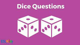 ESL Game Dice Questions
