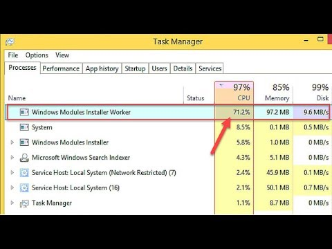 How To Fix CPU Usage Issues From Tiworker.exe In Windows 10 - YouTube