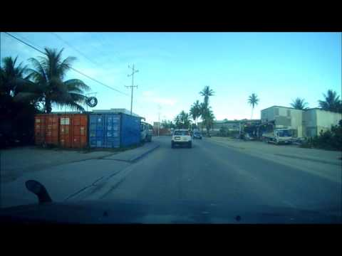 Drive to work Nauru