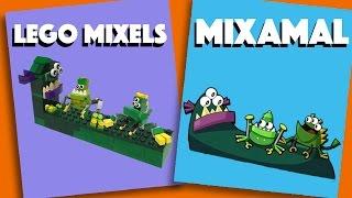 LEGO Mixels - Mixamals - Stop Motion Build (How to Build)