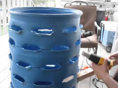Perfect Strawberry Barrel   55 Gallon Drum. Part 3