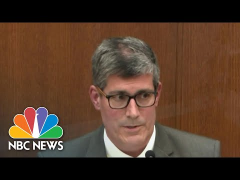 Chauvin Trial: Medical Examiner Testifies On George Floyd's Cause Of Death   NBC Nightly News