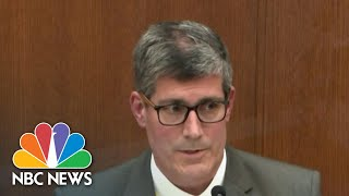 Chauvin Trial: Medical Examiner Testifies On George Floyd's Cause Of Death | NBC Nightly News