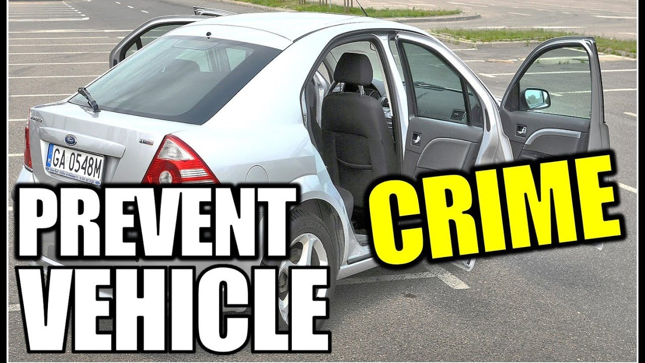 23 Simple Tips Tricks To Prevent Motor Vehicle Car Crime