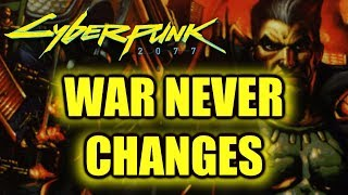 Cyberpunk 2077 Corporate War History