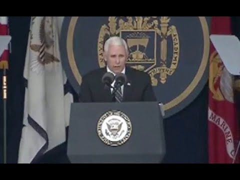 VP Pence Addresses Naval Academy Grads- Full Speech