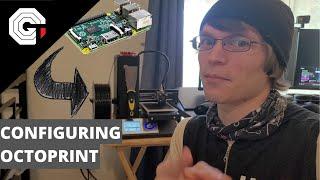 Wireless 3D Printing using OctoPrint w/Glytch