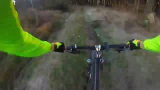 Mountainbike Trail am Großendrescheid Radarturm (Sauerland)