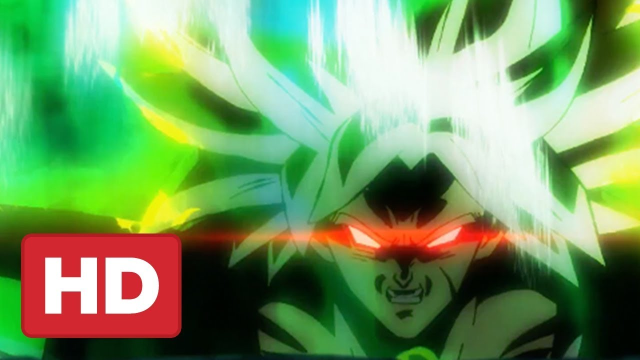 Dragon Ball Super Broly Movie Trailer English Dub Reveal