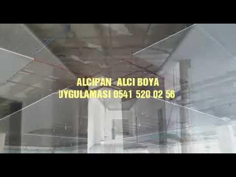 ALCI- ALCIPAN VE BOYA UYGULAMASI(LİDERİNSAATDEKORASYON)